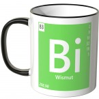 "JUNIWORDS Tasse Element Wismut ""Bi"""