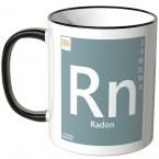 "JUNIWORDS Tasse Element Radon ""Rn"""