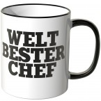 JUNIWORDS Tasse WELT BESTER CHEF