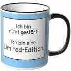 JUNIWORDS Tasse Ich bin nicht gestört! Ich bin eine Limited-Edition.