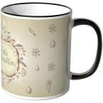 JUNIWORDS Tasse Frohe Weihnachten Vögelchen