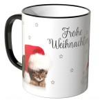 JUNIWORDS Tasse Weihnachtskätzchen