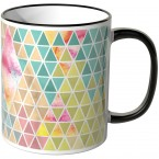 JUNIWORDS Tasse Triangle Muster 1