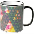 JUNIWORDS Tasse Triangle Muster 2