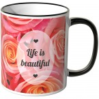 JUNIWORDS Tasse Life is beautiful