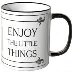 JUNIWORDS Tasse Enjoy the little things