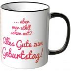 JUNIWORDS Tasse 10.950 Tage alt! (30 Jahre) - pink