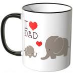 tasse elefanten
