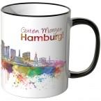 """JUNIWORDS Tasse """"Guten Morgen Hamburg!"""""""