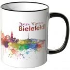 """JUNIWORDS Tasse """"Guten Morgen Bielefeld"""""""