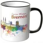 """JUNIWORDS Tasse """"Guten Morgen Bremen!"""""""