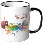 """JUNIWORDS Tasse """"Guten Morgen Madrid!"""""""