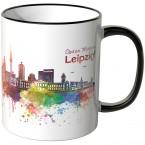 "JUNIWORDS Tasse ""Guten Morgen Leipzig!"""