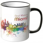 "JUNIWORDS Tasse ""Good Morning Miami!"""