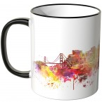 "JUNIWORDS Tasse ""Good Morning San Francisco!"""