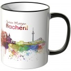 "JUNIWORDS Tasse ""Guten Morgen Aachen!"""