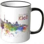 """JUNIWORDS Tasse """"Guten Morgen Kiel!"""""""