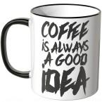 JUNIWORDS Tasse Coffee is always a good idea