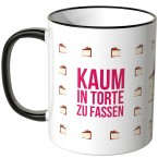 JUNIWORDS Tasse Kaum in Torte zu fassen
