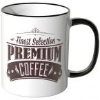 JUNIWORDS Tasse Finest Selection Premium Coffee