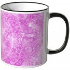 JUNIWORDS Tasse Aquarell Mandala Pink