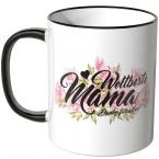 JUNIWORDS Tasse Weltbeste Mama. Danke für alles!