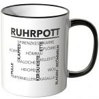 JUNIWORDS Tasse Ruhrpott Wörter
