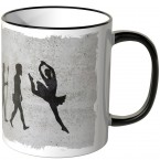 JUNIWORDS Tasse Evolution Ballerina