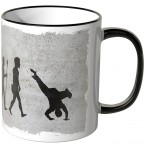 JUNIWORDS Tasse Evolution Breakdance