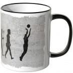 JUNIWORDS Tasse Evolution Basketball