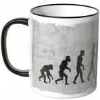JUNIWORDS Tasse Evolution Badminton