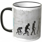 JUNIWORDS Tasse Evolution Tänzer