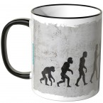 JUNIWORDS Tasse Evolution Turnen