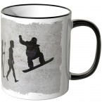 JUNIWORDS Tasse Evolution Snowboard