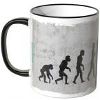 JUNIWORDS Tasse Evolution Fechter