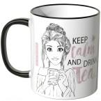 JUNIWORDS Tasse Keep calm and drink tea