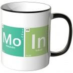 JUNIWORDS Tasse Periodensystem Moin