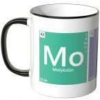 JUNIWORDS Tasse Periodensystem Moin - 2