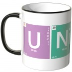 JUNIWORDS Tasse Periodensystem Unicorn