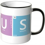 JUNIWORDS Tasse Periodensystem Genius