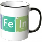 JUNIWORDS Tasse Periodensystem Koffein