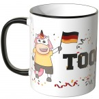 JUNIWORDS Tasse Einhorn Toooooor!!!
