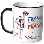 JUNIWORDS Tasse Frankreich Flamingo