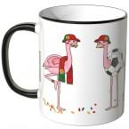 JUNIWORDS Tasse Portugal Flamingo-Fans