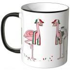 JUNIWORDS Tasse Italien Flamingo-Fans
