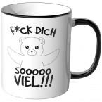 JUNIWORDS Tasse f*ck dich sooooo viel!!!
