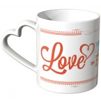 JUNIWORDS Herz Tasse Love - 14 February