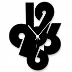 Uhr mit großen Zahlen