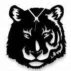 Tigerkopf Wanduhr