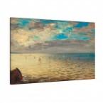 das Meer von Eugéne Delacroix als Leinwandbild